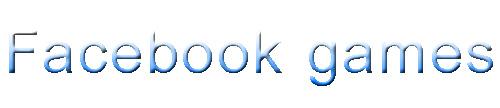 משחקי פייסבוק